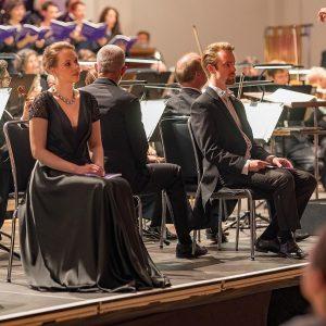 Elisabeth von Stritzky, Brahms Requiem, Martin Engel